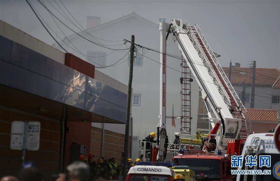 (外代一線)(1)葡萄牙一小型飛機墜毀致5人死亡