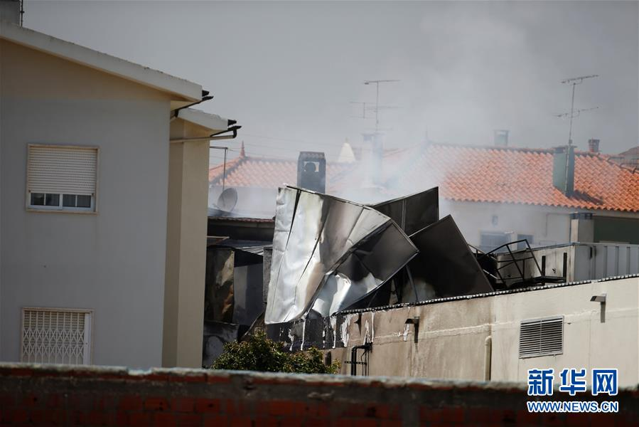 (外代一線)(5)葡萄牙一小型飛機墜毀致5人死亡