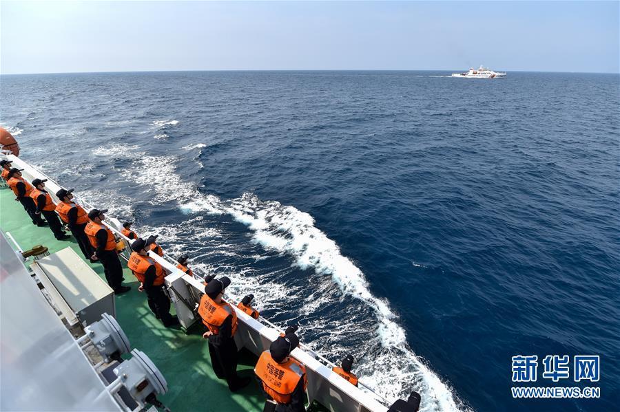 (法治)(2)中越海警舉行2017年首次北部灣共同漁區海上聯合檢查