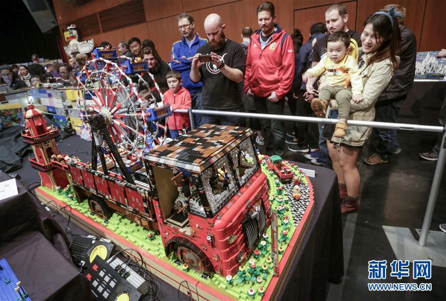 (國際)(3)溫哥華舉行樂高積木展