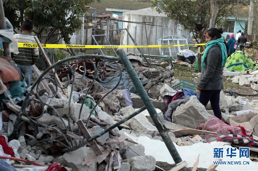 (國際)(1)墨西哥煙花倉庫爆炸造成至少14人死亡