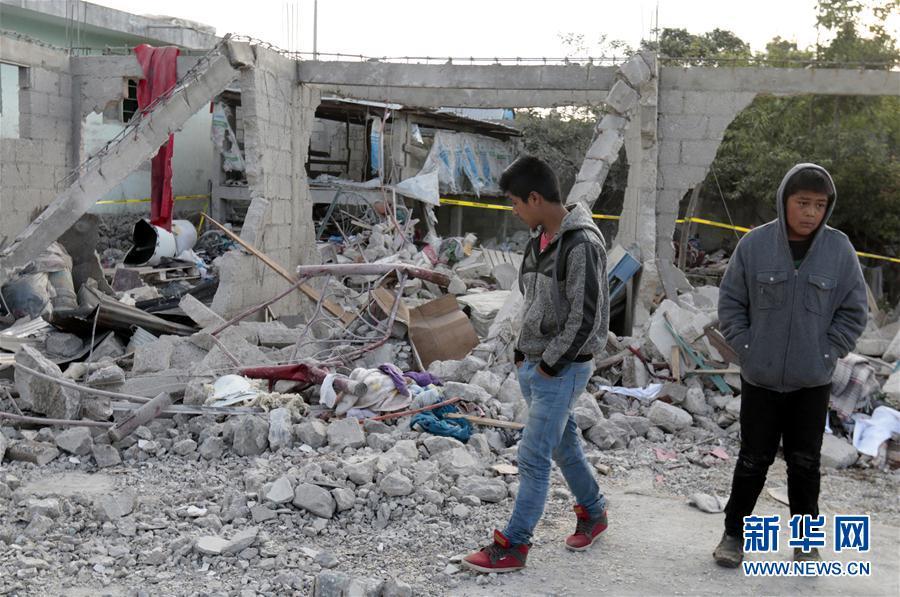(國際)(2)墨西哥煙花倉庫爆炸造成至少14人死亡