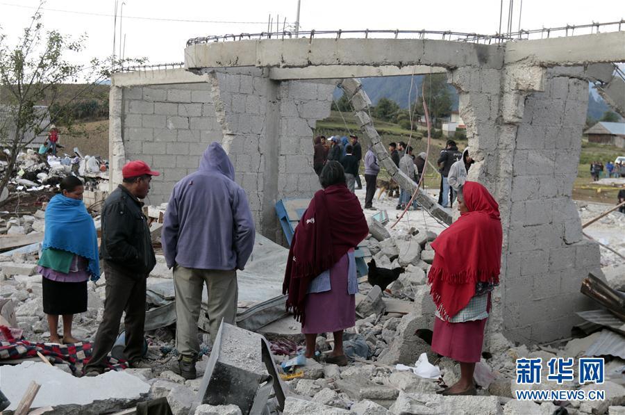 (國際)(4)墨西哥煙花倉庫爆炸造成至少14人死亡