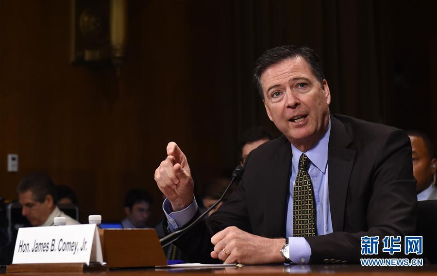 (國際)(1)美國總統特朗普解除聯邦調查局局長科米職務