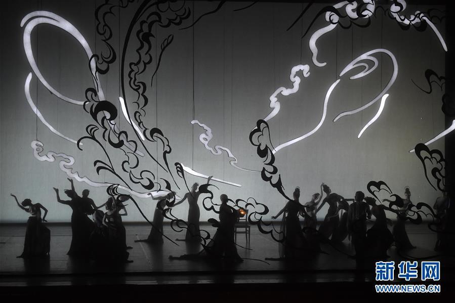 (文化)(1)中芭大型原創芭蕾舞劇《敦煌》首演