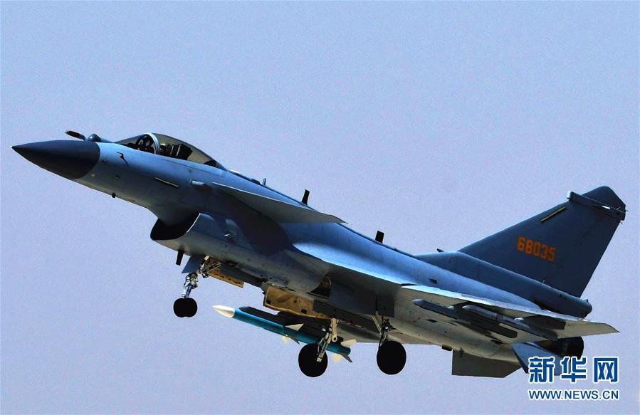 (圖文互動)(4)中國空軍殲-10C戰機擔負戰鬥值班任務