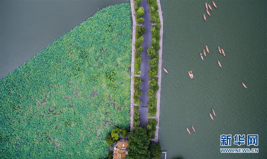 (美麗中國)(1)俯瞰夏日西湖