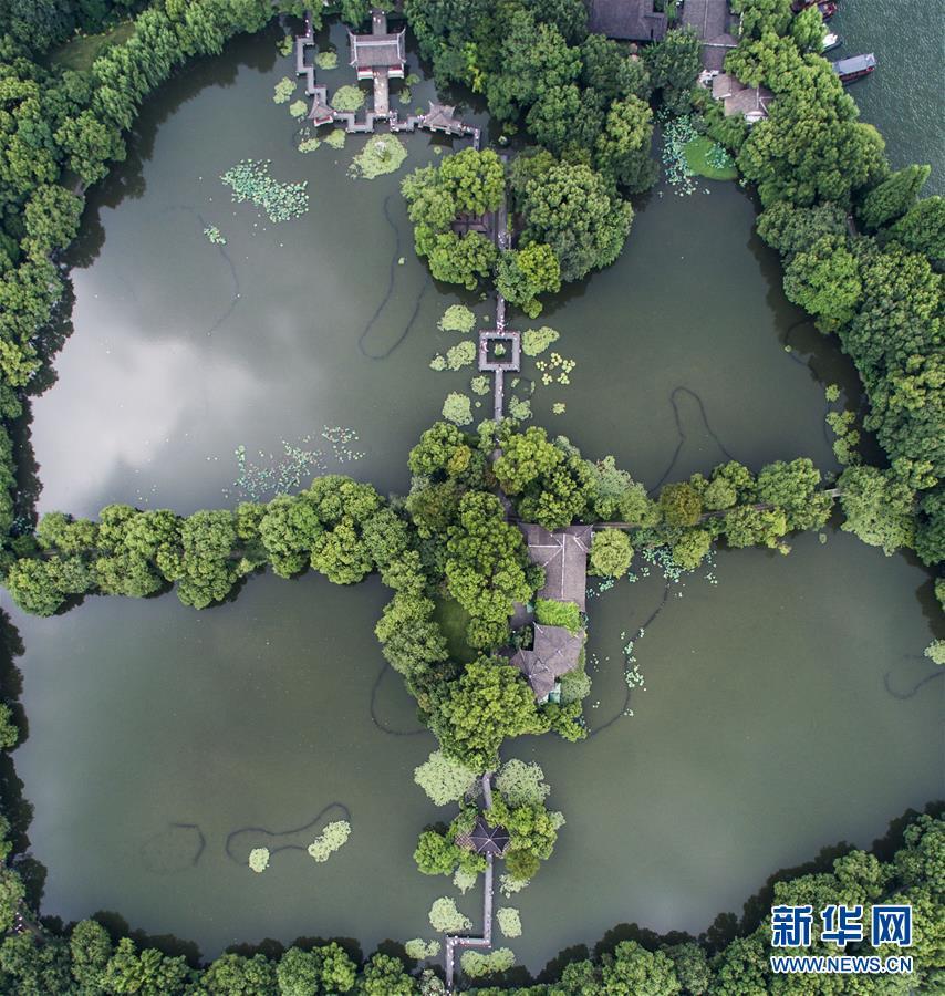 (美麗中國)(5)俯瞰夏日西湖