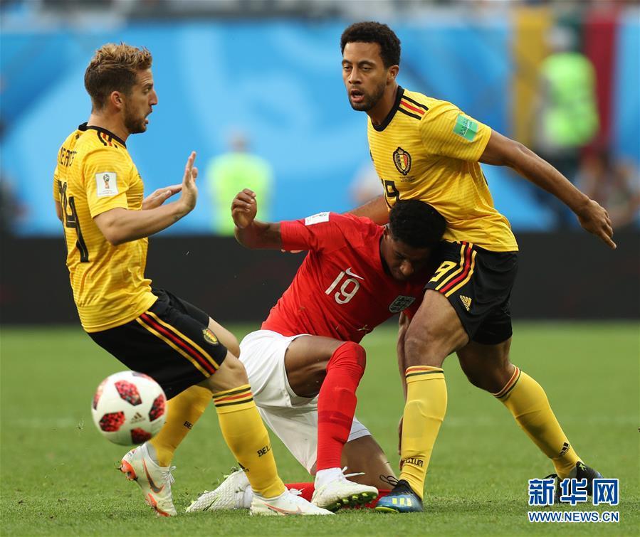 (世界杯)(1)足球——比利時隊獲季軍 創歷史最佳戰績