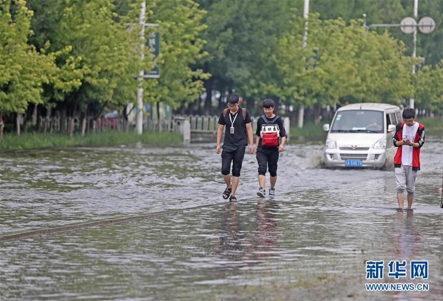 (環境)(3)沈陽遭遇強降雨