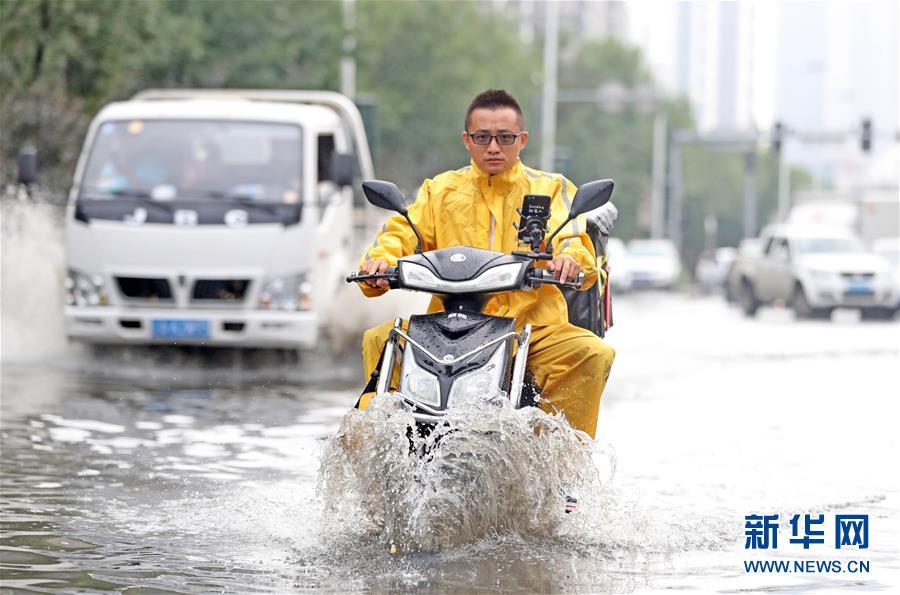 (環境)(4)沈陽遭遇強降雨
