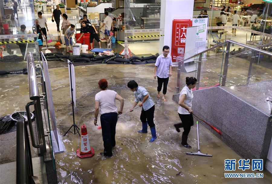 (環境)(3)熱帶低壓致海南普降暴雨