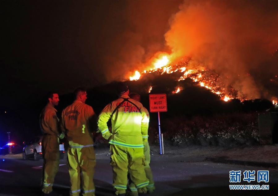 (國際)(1)美國加州山火肆虐