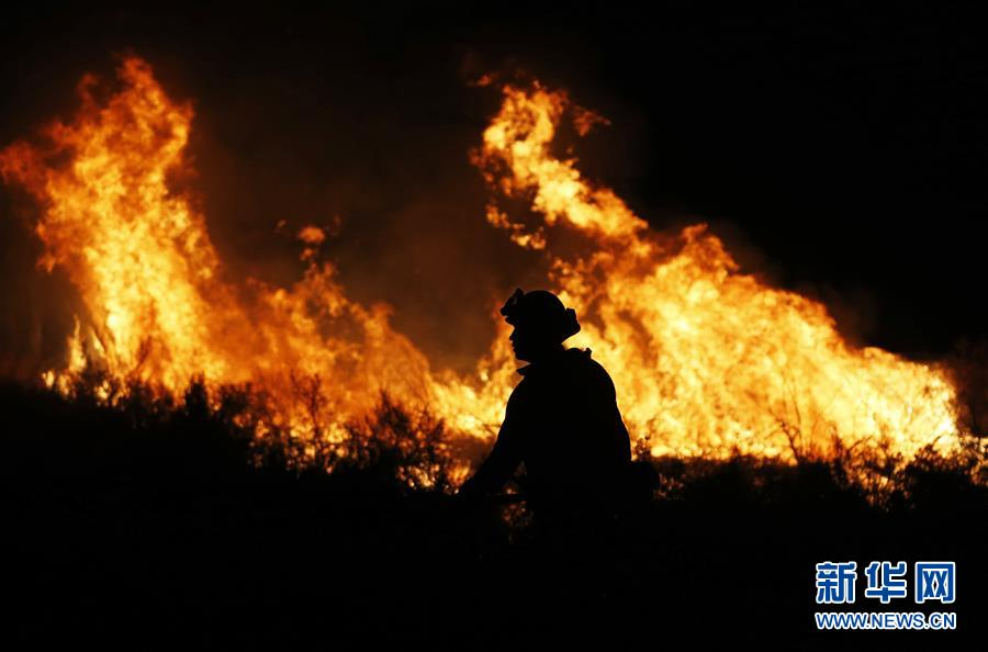 (國際)(3)美國加州山火肆虐