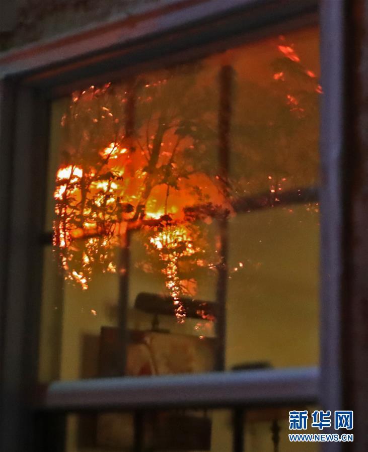 (國際)(4)美國加州山火肆虐