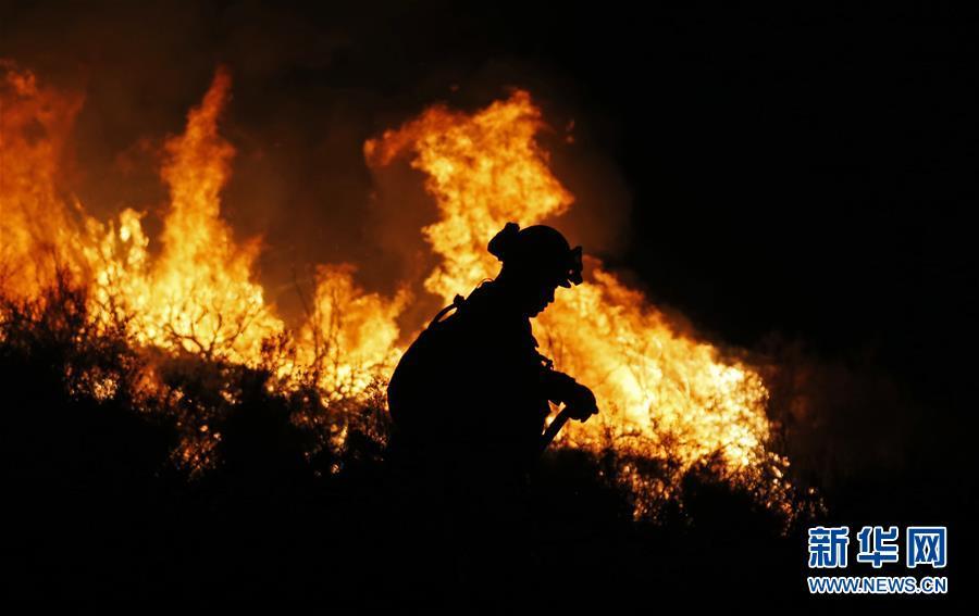 (國際)(6)美國加州山火肆虐