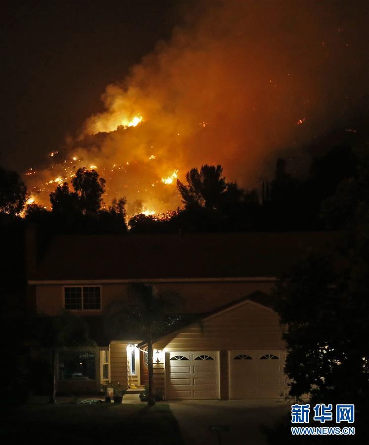 (國際)(8)美國加州山火肆虐