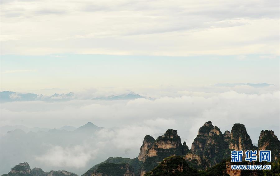 #(美麗中國)(1)雲霧繚繞狼牙山