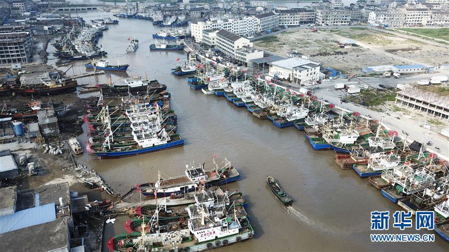#(環境)(1)臺風來襲 船只歸港