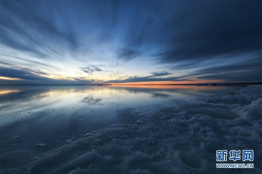 (社會)(1)走進察爾汗鹽湖