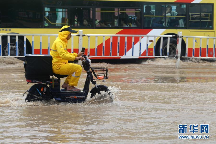 #(社會)(1)福建廈門遭遇暴雨天氣