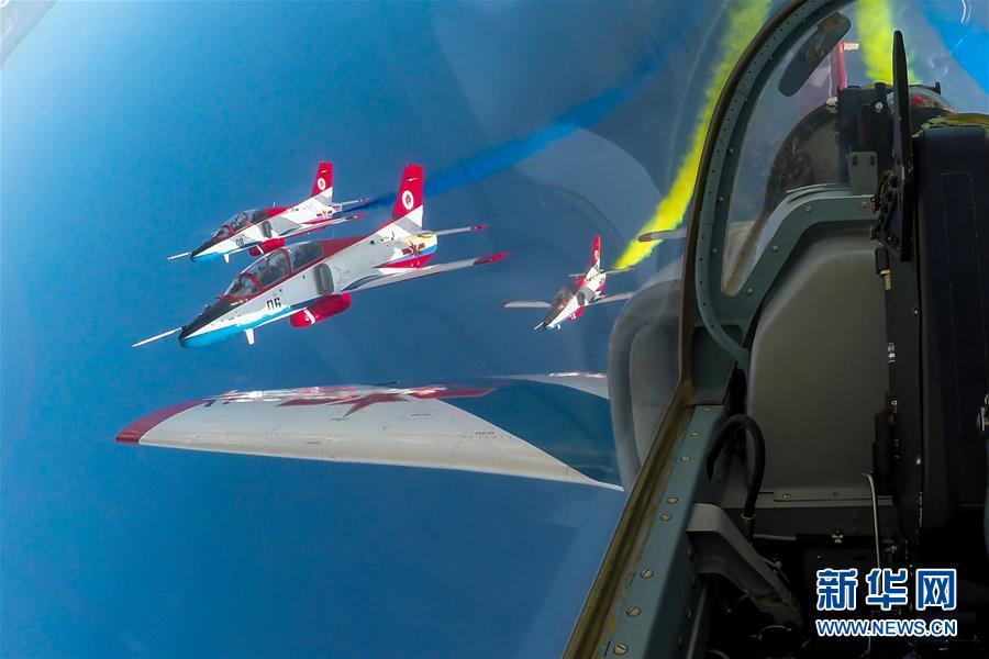 (圖文互動)(4)空軍航空開放活動實戰化演練砥礪新飛行學員制勝空天本領