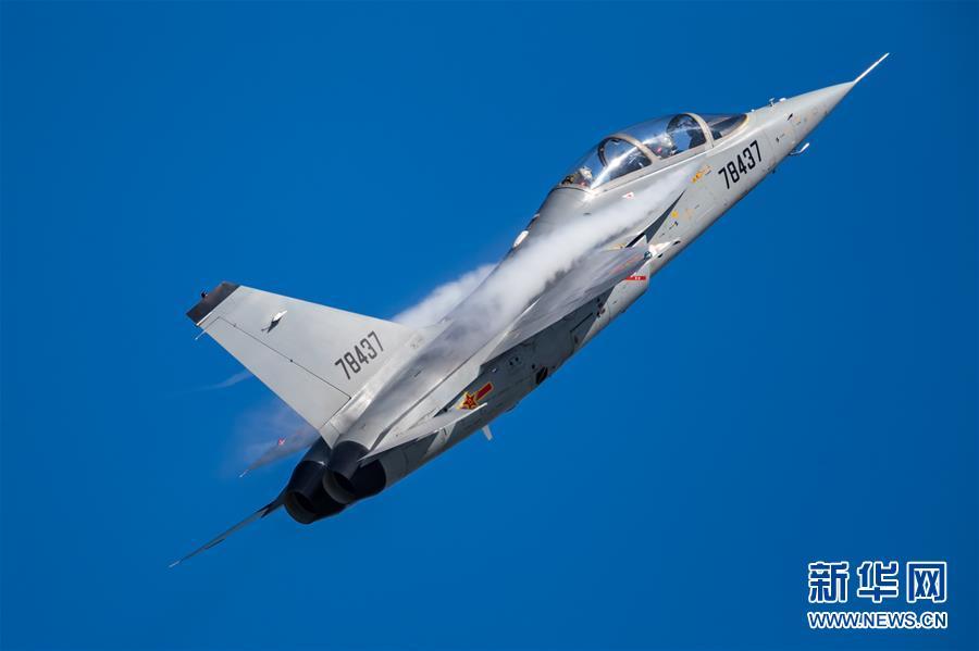 (圖文互動)(6)空軍航空開放活動實戰化演練砥礪新飛行學員制勝空天本領