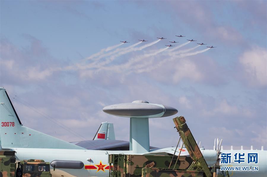 (圖文互動)(11)空軍航空開放活動實戰化演練砥礪新飛行學員制勝空天本領