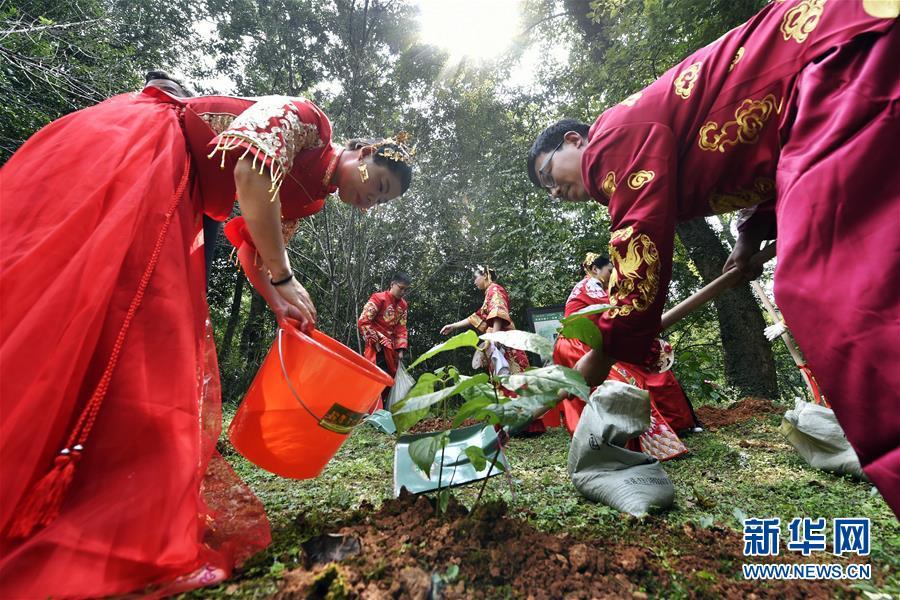 #(社會)(1)杭州舉辦低碳集體婚禮