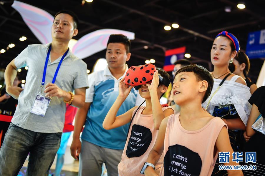 (中國-東盟博覽會)(1)東博會迎來公眾開放日