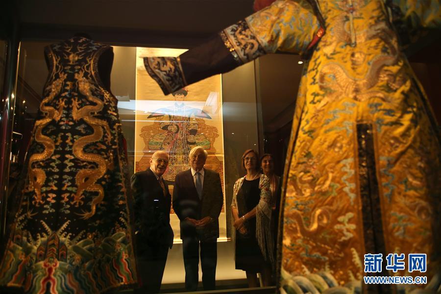 (國際)(1)中國故宮文物展在希臘舉行