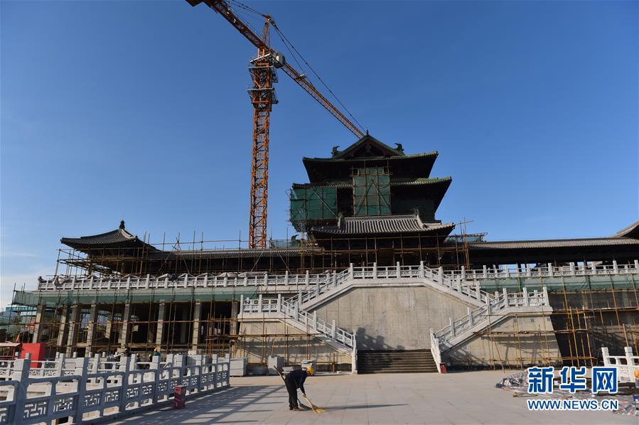 (社会)(1)北京世园会园区建设基本成形
