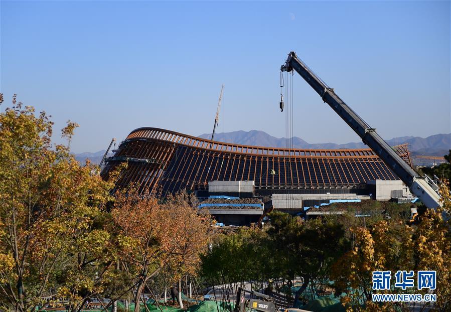 (社会)(5)北京世园会园区建设基本成形
