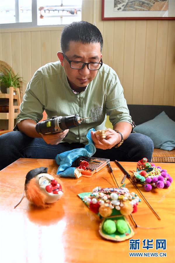 (文化)(5)陈银龙:铁枝木偶传承人