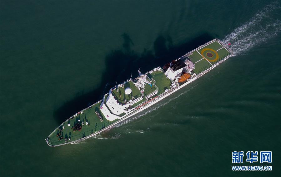(圖文互動)(4)瓊桂粵海事部門開展聯合巡航執法