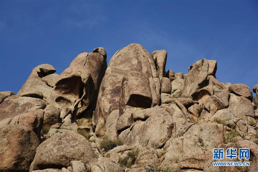 (美麗中國)(1)曼德拉山:岩畫和怪石編織的秘境