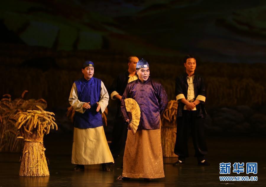 (国际)(5)朝鲜版歌剧《白毛女》在平壤上演