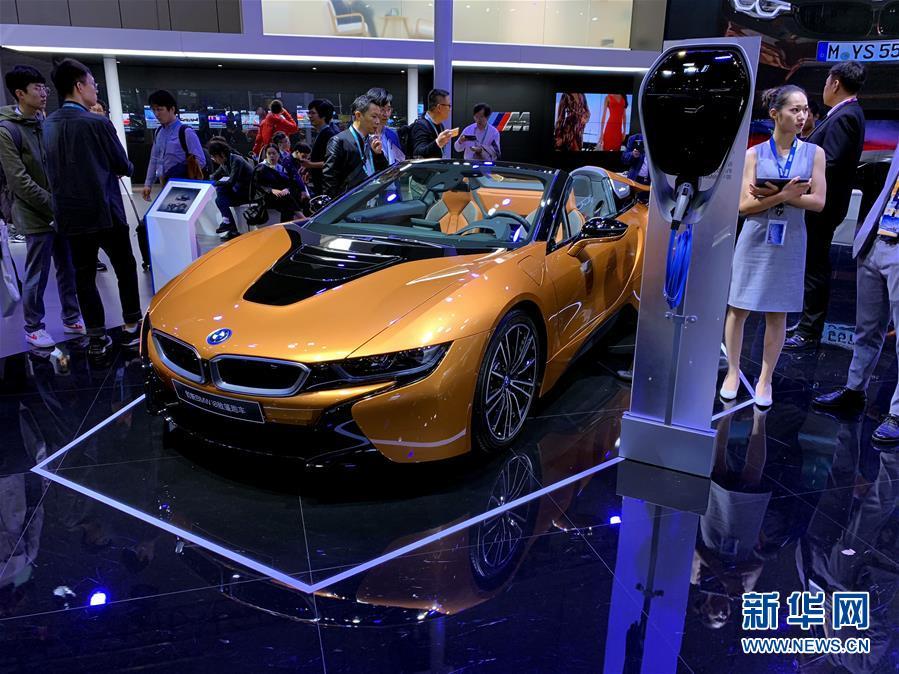 (聚焦進口博覽會)(7)走進首屆進博會汽車展