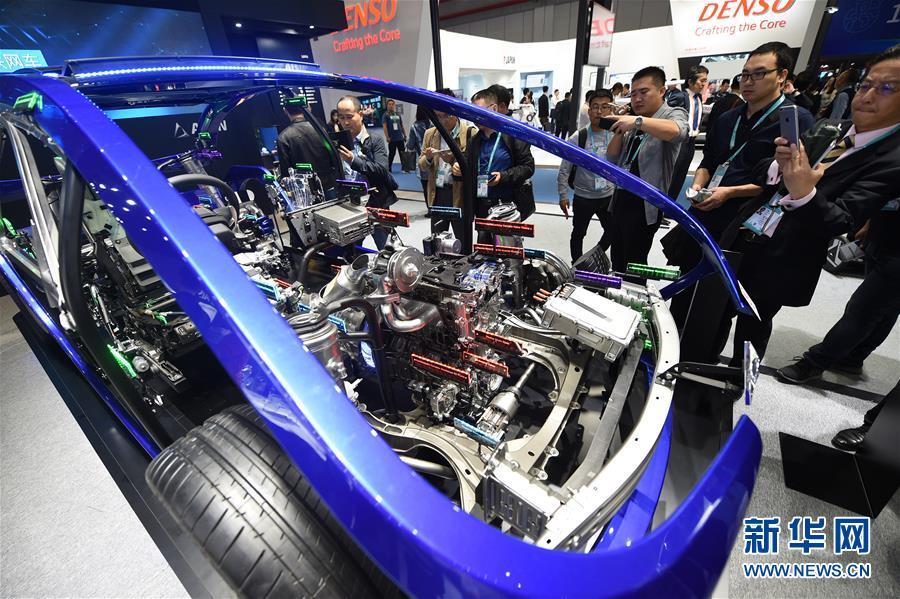 (聚焦進口博覽會)(8)走進首屆進博會汽車展