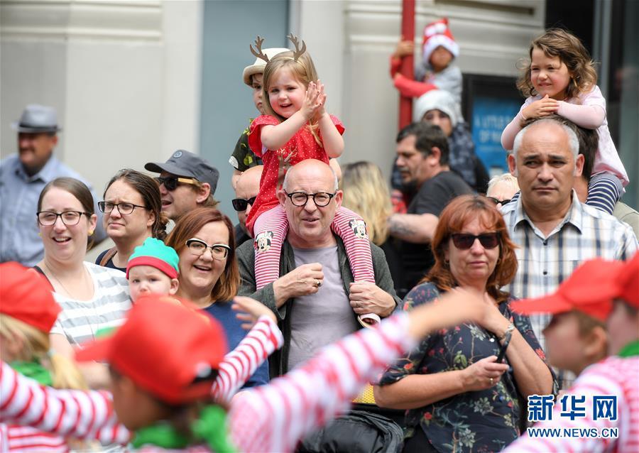 (國際)(6)新西蘭惠靈頓舉行迎聖誕遊行