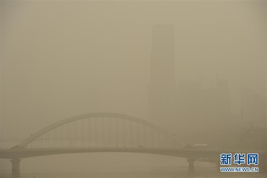 (環境)(2)蘭州出現浮塵天氣