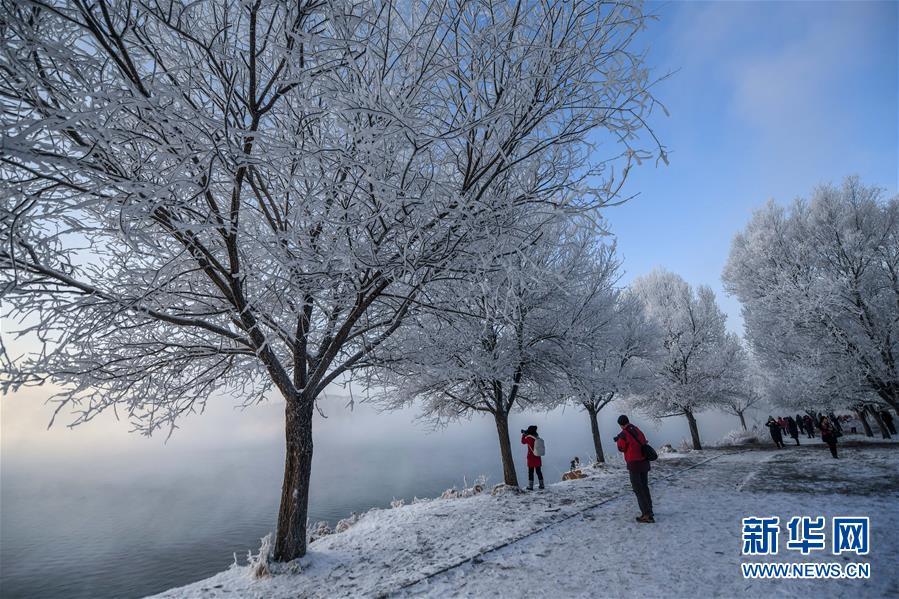 (社會)(2)吉林:霧凇美景