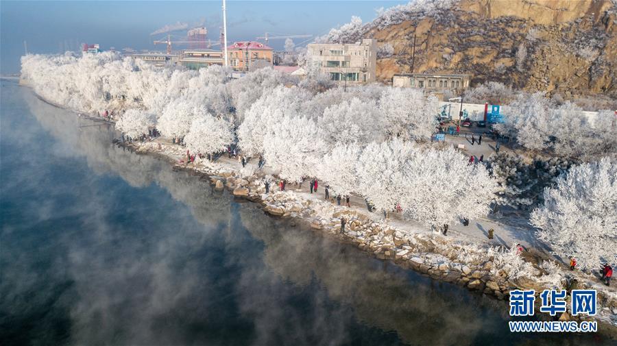 (社會)(4)吉林:霧凇美景
