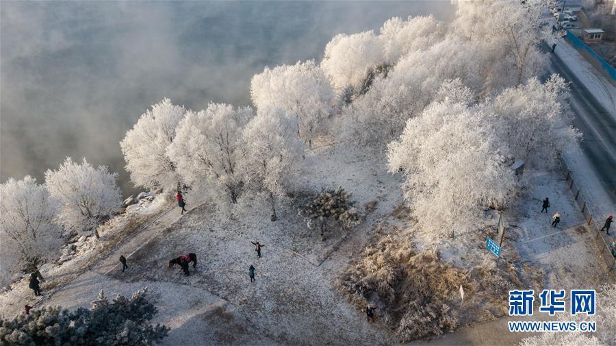 (社會)(6)吉林:霧凇美景