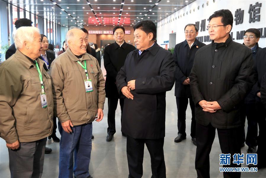 (時政)白瑪赤林率中央代表團四分團在柳州看望慰問各族各界幹部群眾