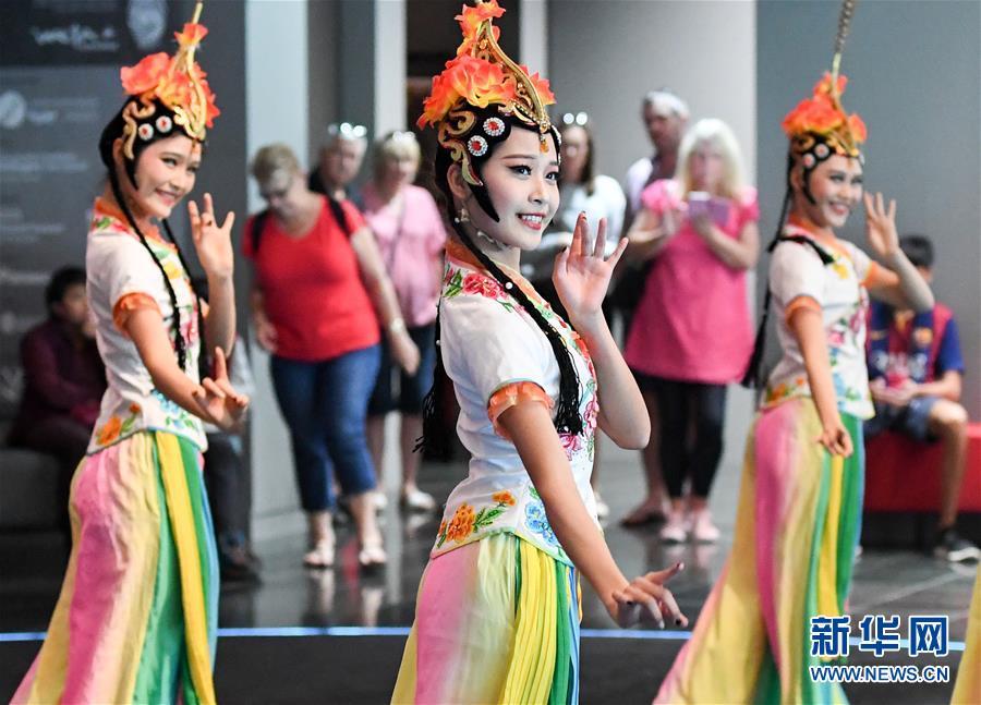 (國際)(1)中國兵馬俑展正式向新西蘭公眾開放