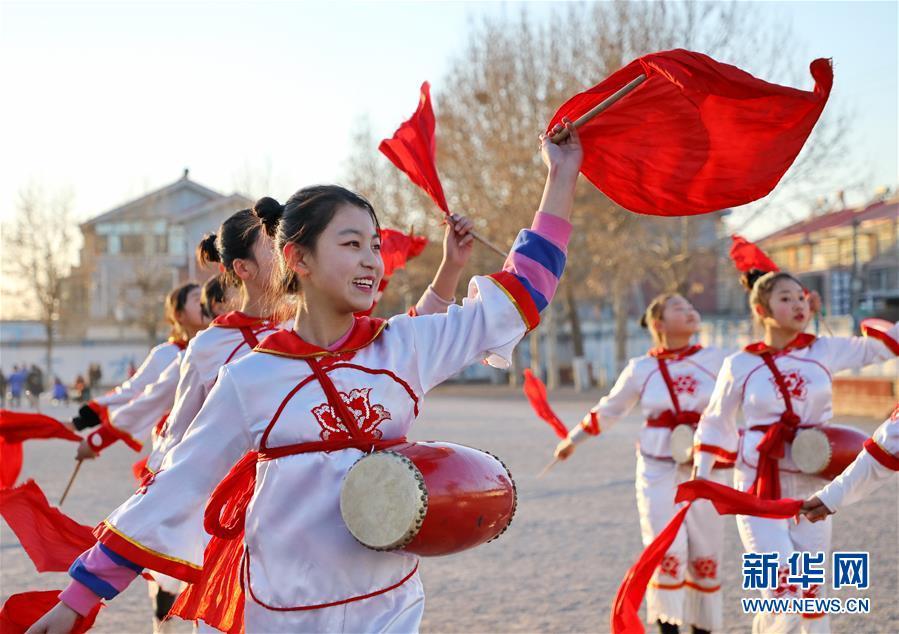 (教育)(1)河北唐山:多彩社團豐富學生生活