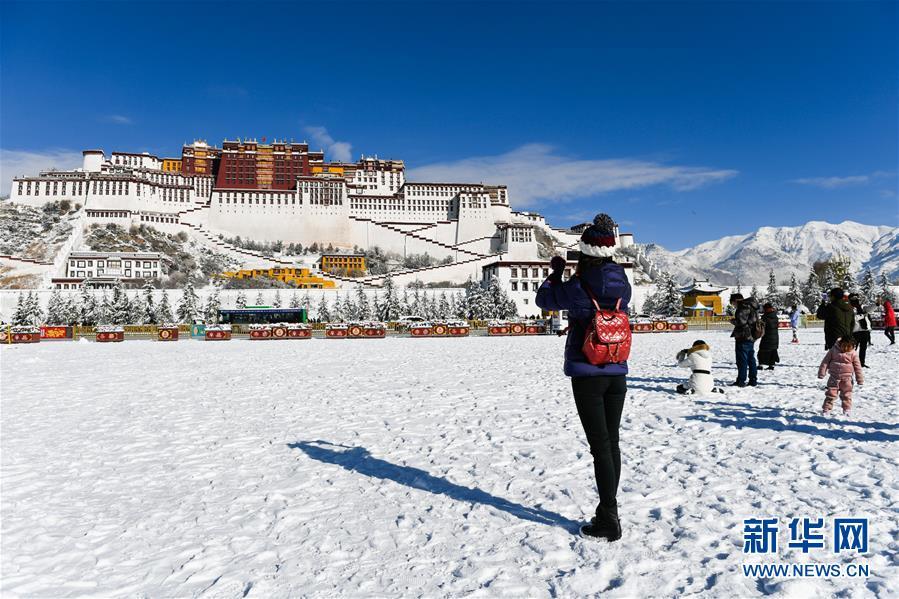 (美麗中國)(3)拉薩迎來今冬第一場雪