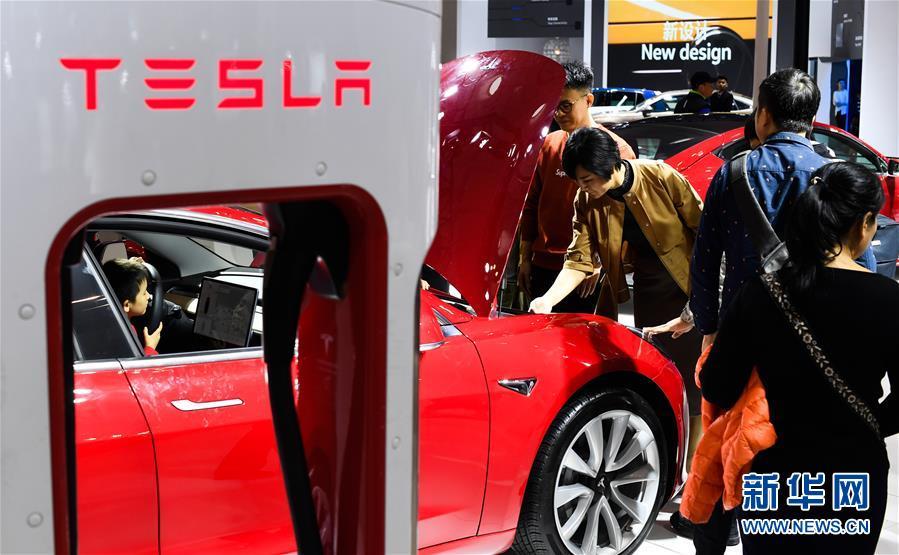 (經濟)(4)2019海口國際新能源車展開幕