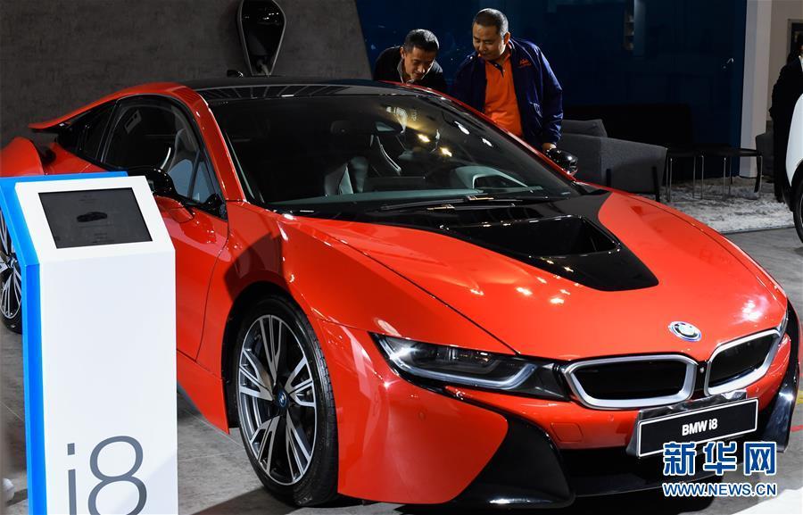 (經濟)(5)2019海口國際新能源車展開幕